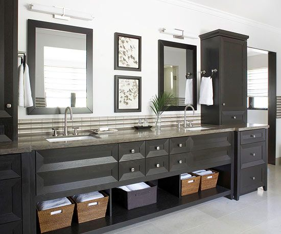 Towels, Vanities And Cabinets