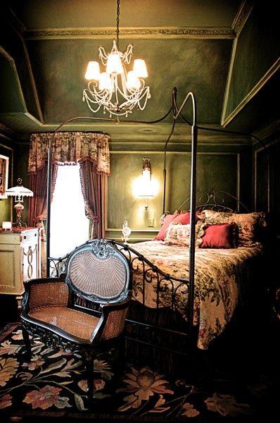 French Bedroom Interior Design Atlanta Old World