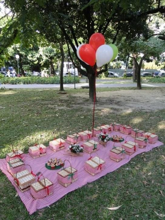 Me deu até vontade de fazer um picnic!: