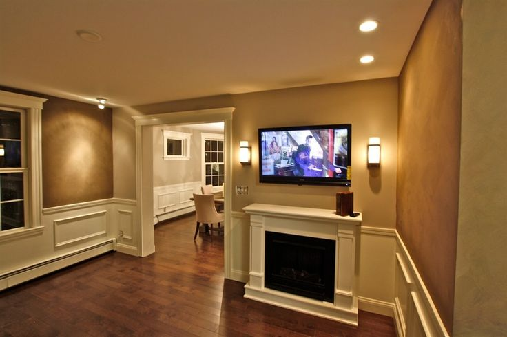 23 best images about Wall mounted TV on Pinterest | Tv ... on Best Sconces For Living Rooms Near Me id=18076