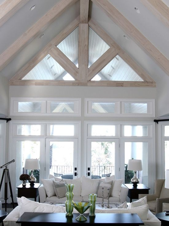 21 Best Images About Rake Windows On Pinterest The Winter Vaulted Ceilings And Home Owners