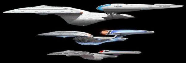 USS Enterprise NCC1701 E NCC1701 F NCC1701 G Star