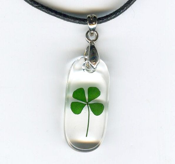 115 Best Images About Four Leaf Clover Necklace On