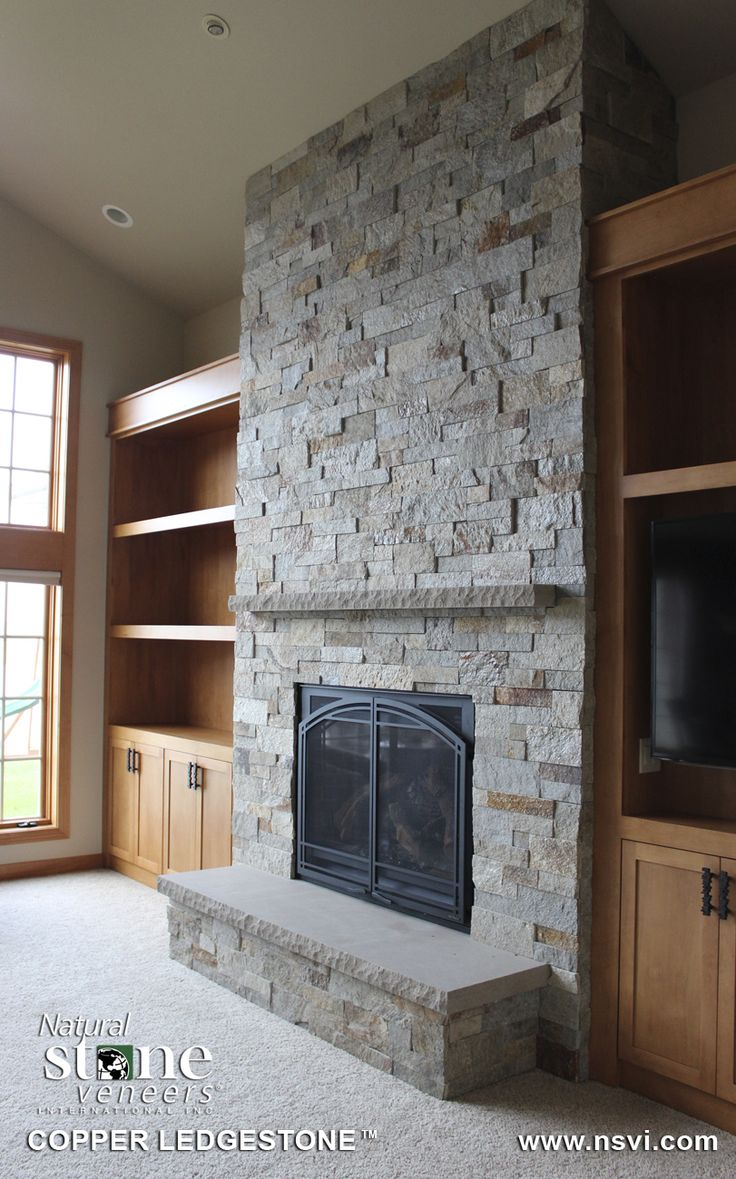 30 Best Images About Stone Fireplaces On Pinterest