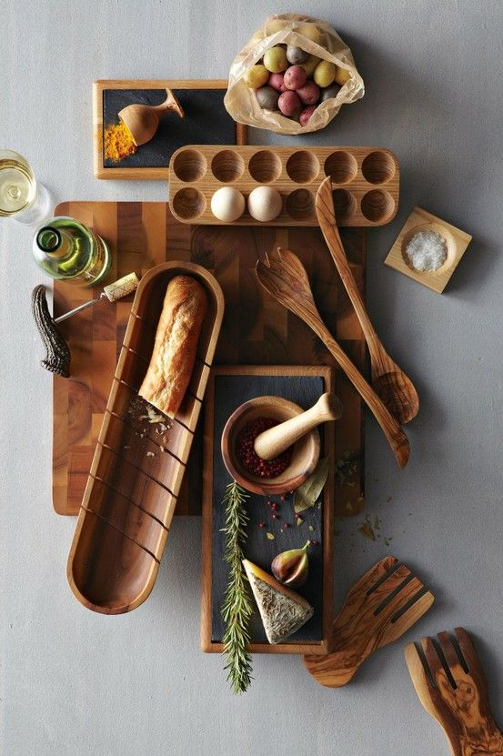 Wooden kitchen tools are great.  Olive wood is wonderful but hard to find.  Choose a hard wood and treat it well.  (Do not soak or