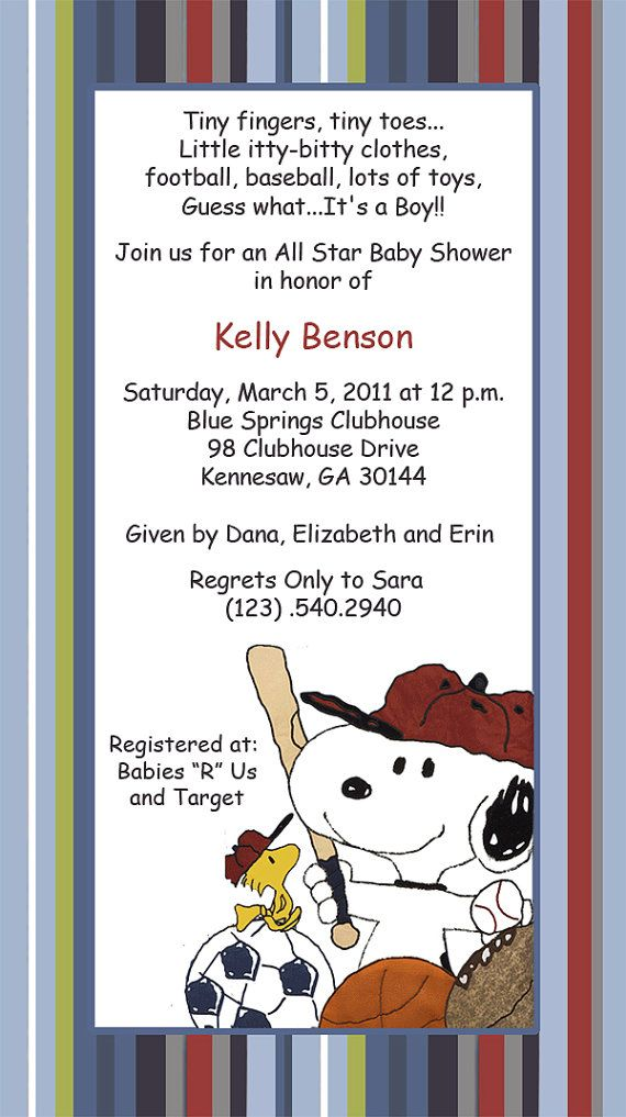 snoopy baby shower invitations templates, Baby shower invitations