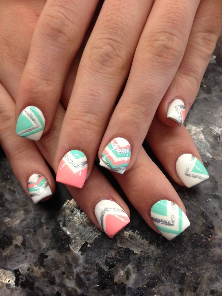 Super Cute Nail Design Color