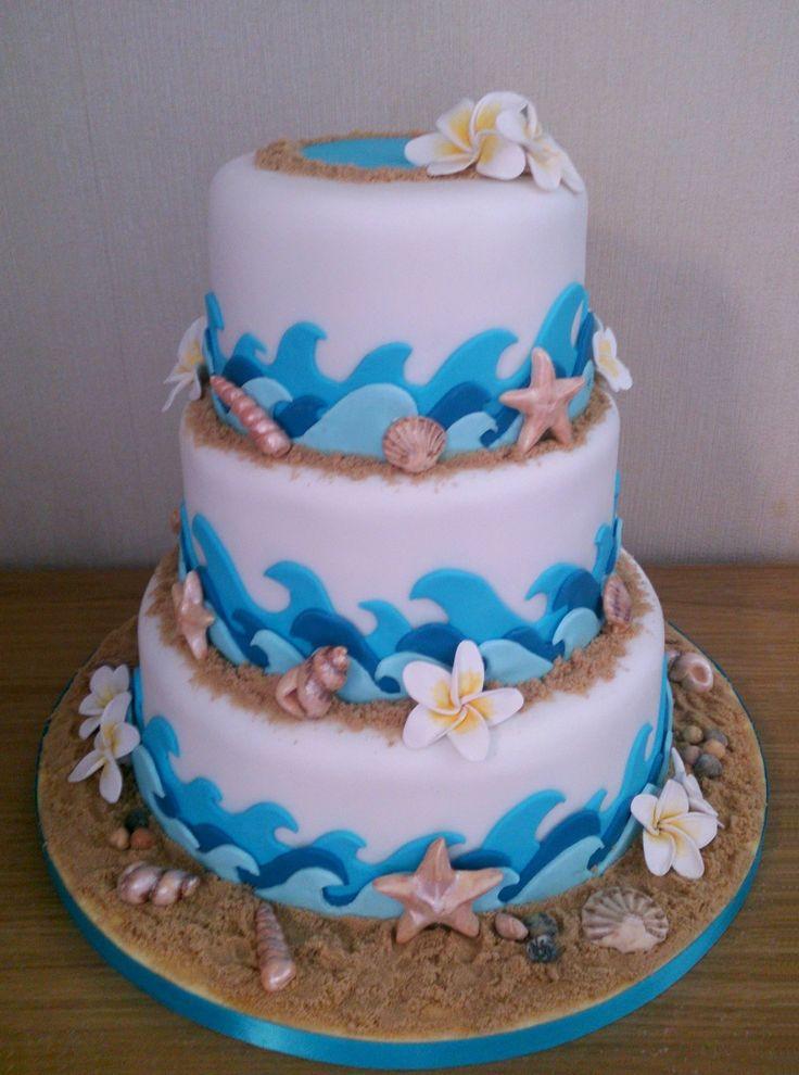 Kite Surf Beach Themed Novelty Wedding Cake Susies
