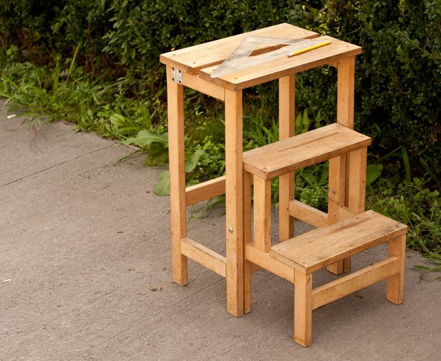How To Build A Folding Step Stool Woodworking Projects