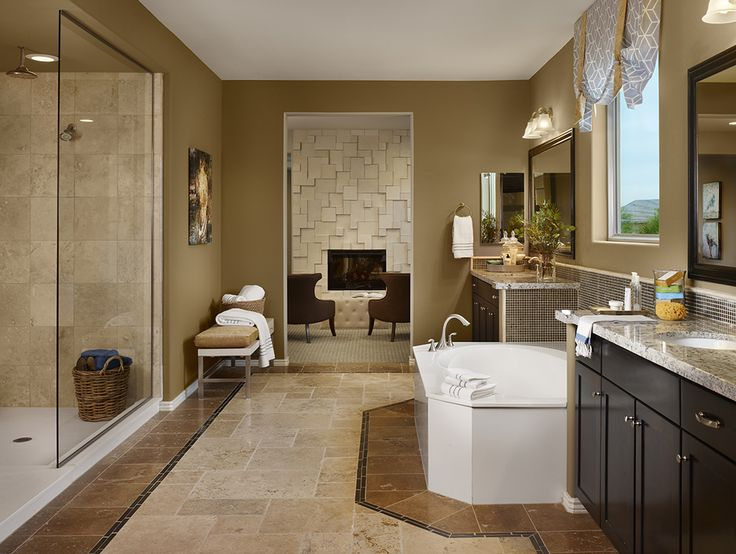 Dark Cabinets, Brown And Tan
