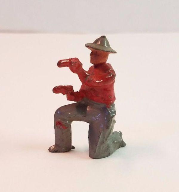 Details about Vtg Britains Cowboy Toy Soldier Miniature ...