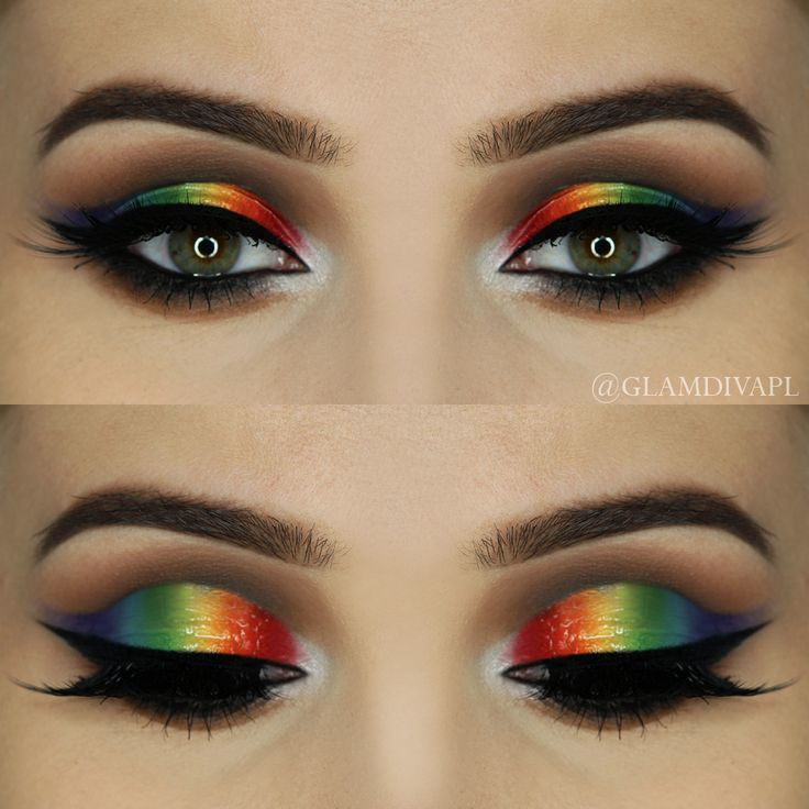 Image result for Rainbow Eye Makeup: How to Pull Off the Instagram Trend for Pride
