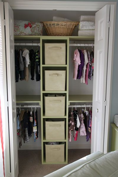 Just did something similar to both kids closets and I must say for such a small