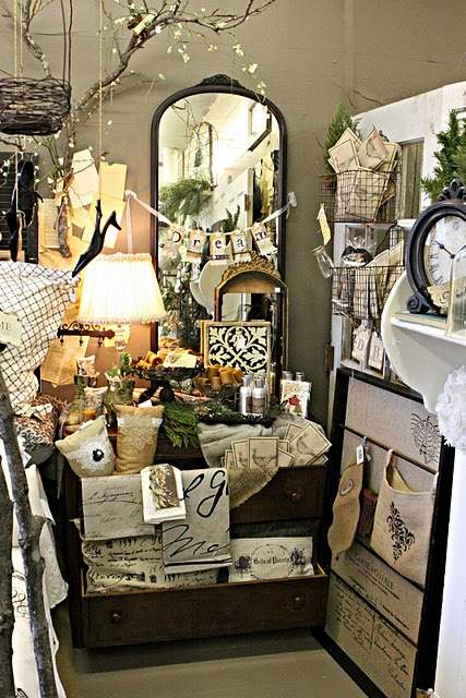 Vintage Display Ideas Jewelry Booth