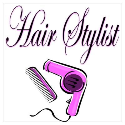cartoon hairdresser images cafepress wall art posters hair stylist diva poster craft