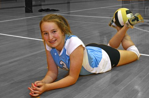 17+ best ideas about Volleyball Poses on Pinterest ...