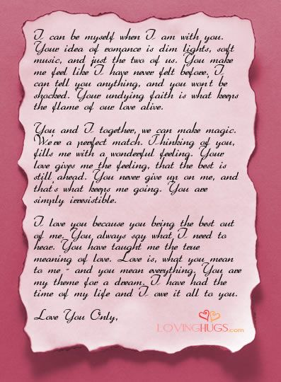 17 Best Images About Love Letter Templates On Pinterest