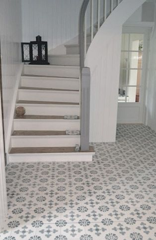 Cement Tiles Are Perfect For The Hall Or Kitchen