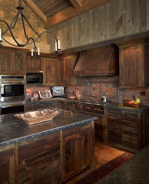 298 best images about Rustic Kitchens on Pinterest ... on Rustic:mophcifcrpe= Cottage Kitchen Ideas  id=54374