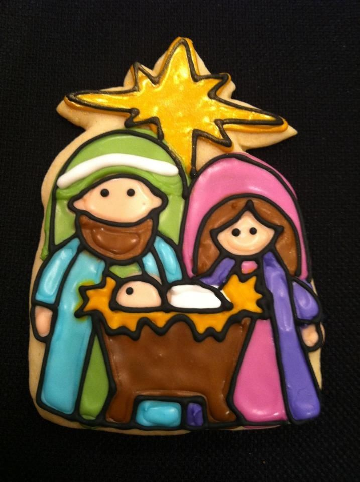 1000 Images About Christmas Manger Cookies On Pinterest
