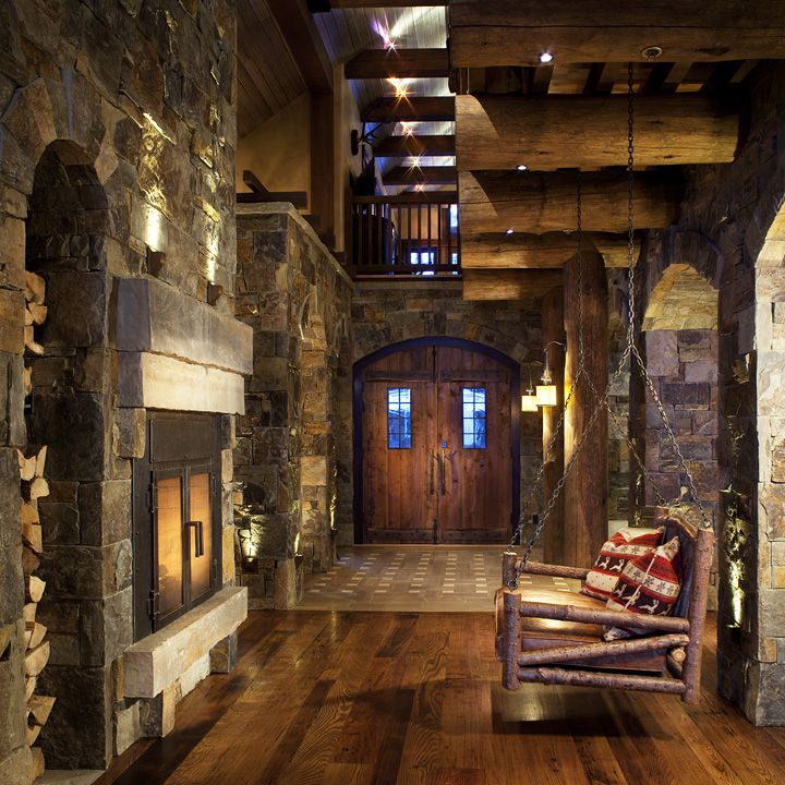 456 Best Images About Lodge Style Interiors On Pinterest
