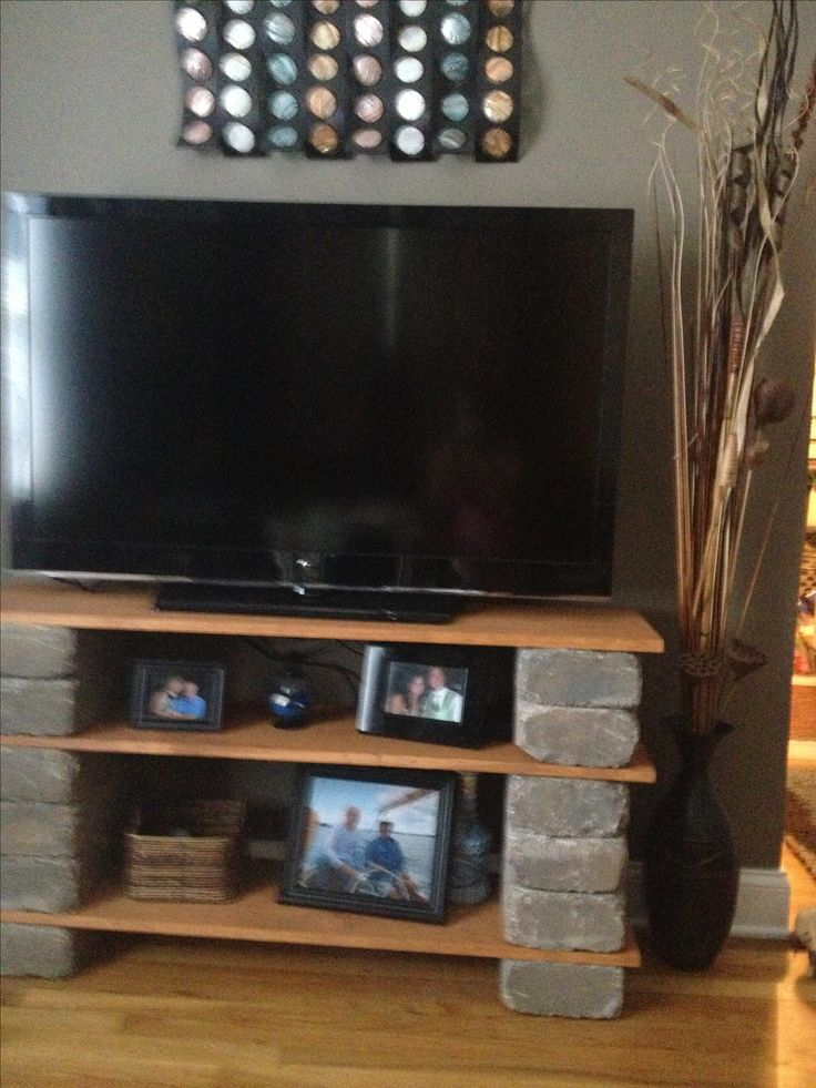 Cool idea diy tv stand house and home pinterest