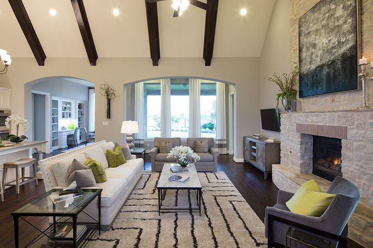 Highland Homes Light Farms Living Room Celina TX Plan 292 Decoration Pinterest