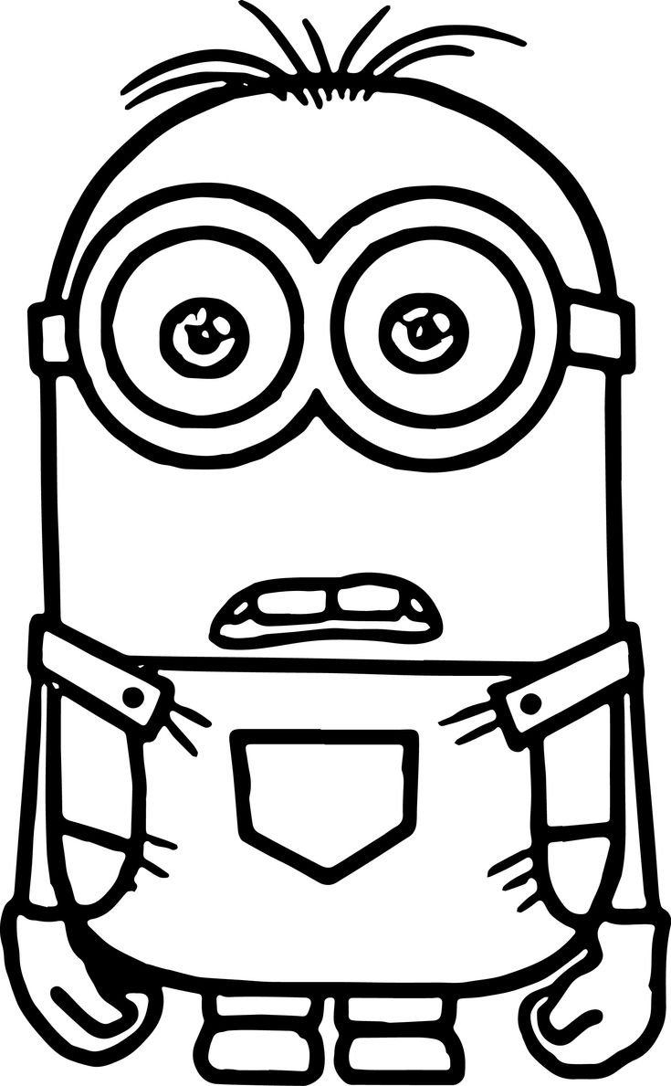 Free Coloring Pages Of Minions Halloween Wallpaper
