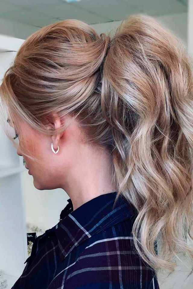 25 best ideas  about Ponytail  hairstyles  on Pinterest