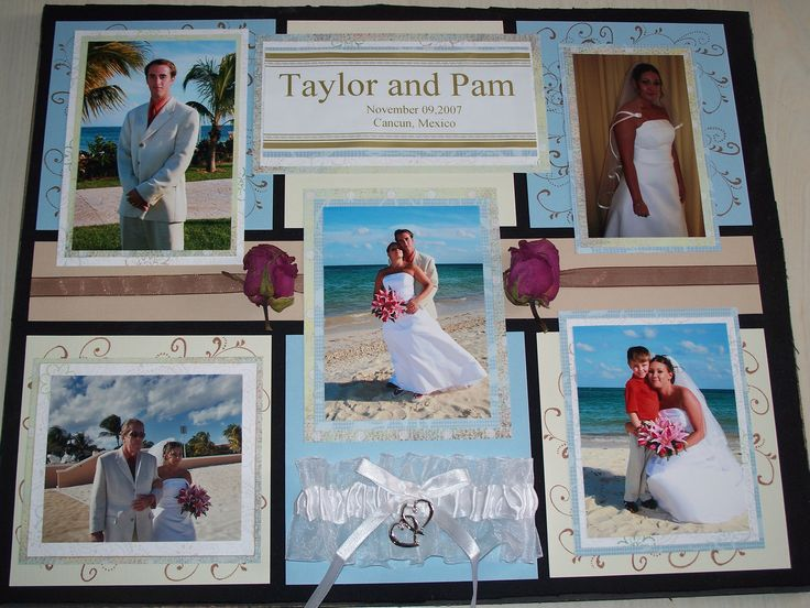 17 Best Images About Wedding Scrapbook Ideas On Pinterest