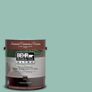behr premium plus ultra 1 gal ppu12 7 spring stream on home depot behr paint colors interior id=89650