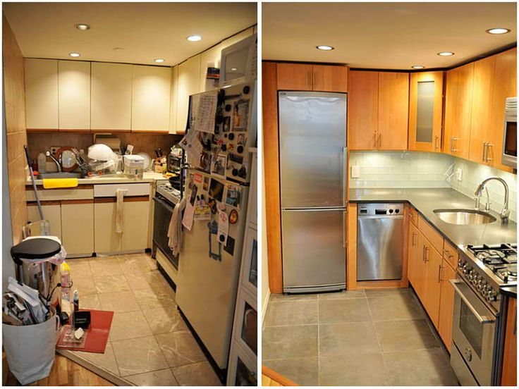 17 best images about small kitchen remodel before and after on pinterest renovated kitchen on kitchen renovation id=66102