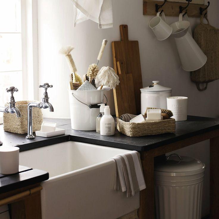 Small Jute Storage Basket Bathroom Accessories The
