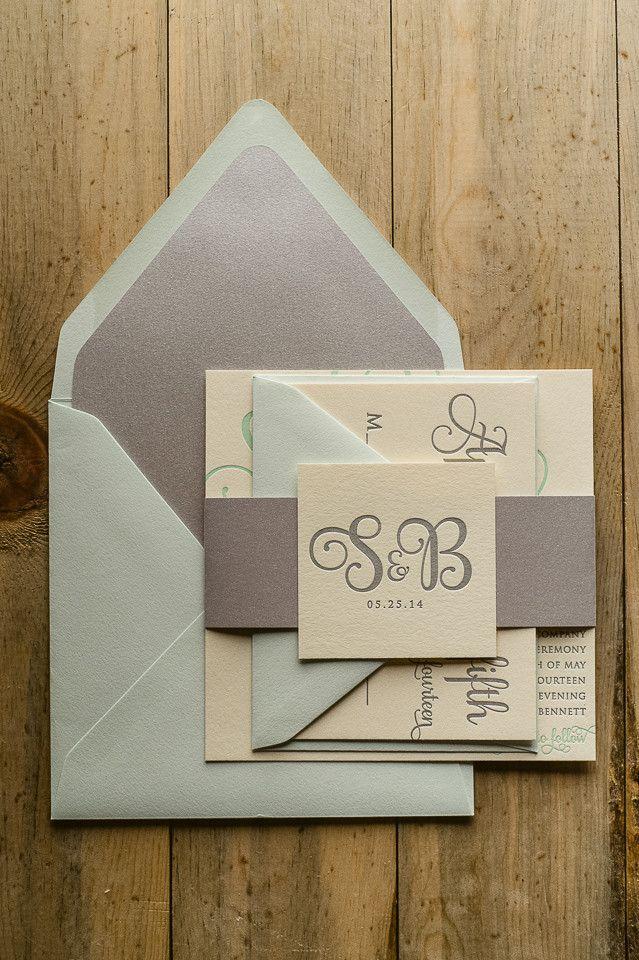 Rose Gold Wedding Invitation Printable
