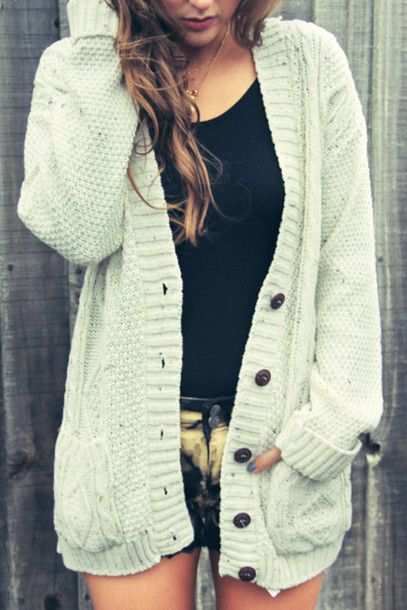 "last pinner- ""I love cozy oversized cardigans for fall."" I love oversized sweaters always"
