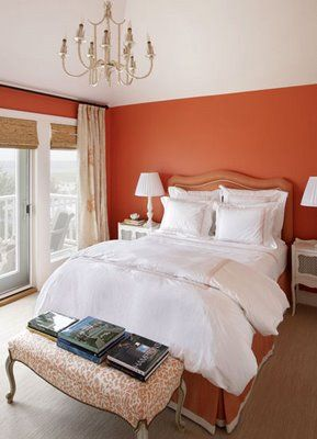 Bring Fall Colors Into Your Home With Warm Orange Walls Decor
