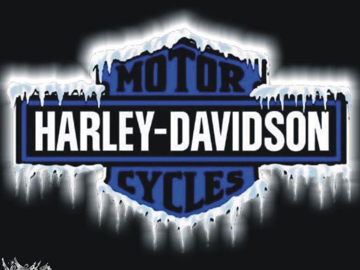 Harley Davidson Logo Harley Davidson Logo Ice Bleu