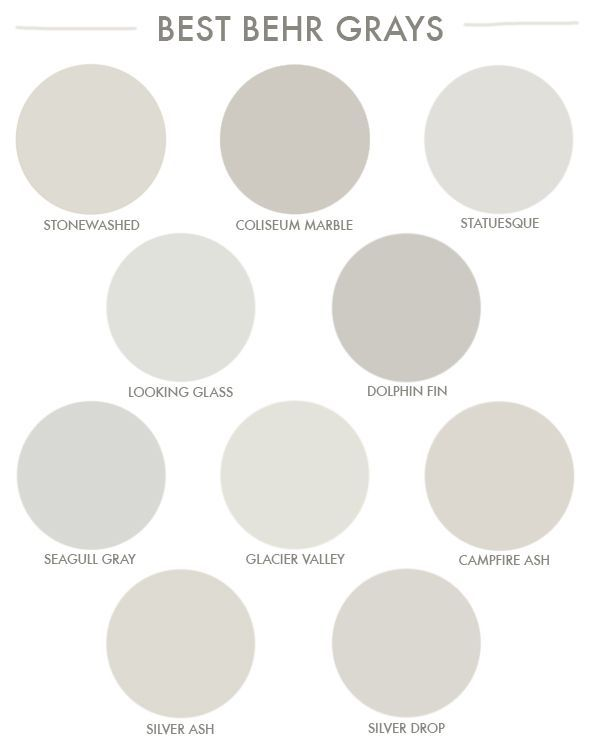 Favorite grays from the hardware store!