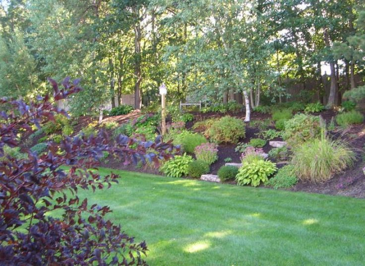 723 best images about Landscaping a slope on Pinterest ... on Backyard Hill Landscaping Ideas  id=71629