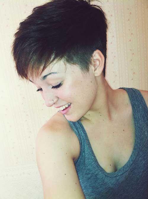 25 Best Ideas About Undercut Pixie Haircut On Pinterest
