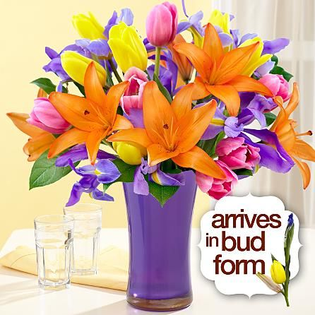 The dazzling colors of Spring come to life in our bouquet ...