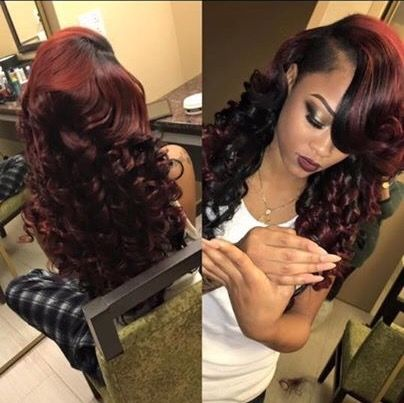 1000 ideas about burgundy hairstyles on pinterest burgundy hair colors burgundy hair and