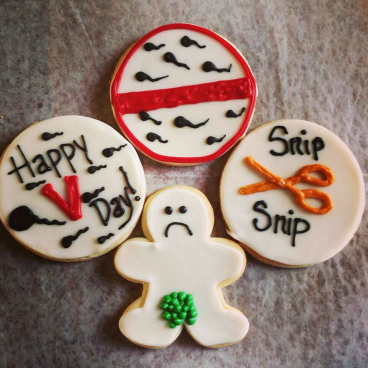 Happy Vasectomy Day By Lindsay Horrell Hart Decorated