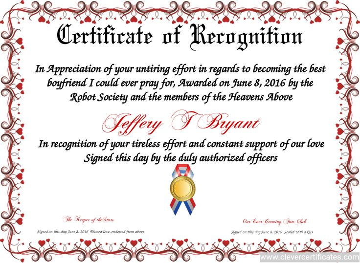 Outstanding Employee Recognition Letter