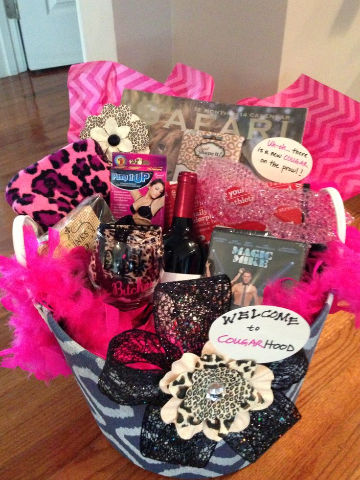 Gift Idea For A Friends 40th Birthday Party Cougar