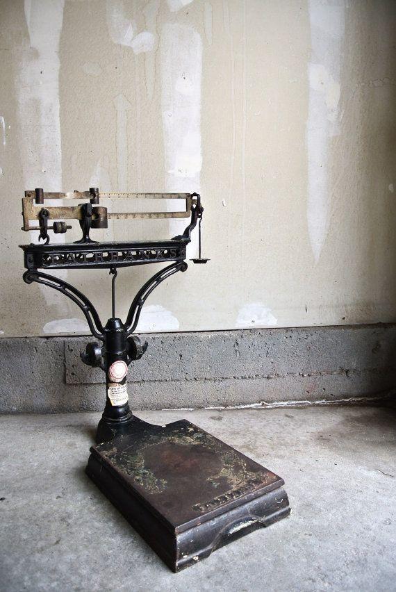 RESERVED For Jon Stunning Vintage Fairbanks Scale