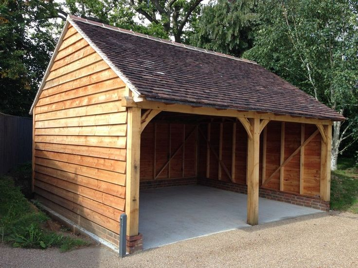1000 Images About Timber Framed Carports On Pinterest