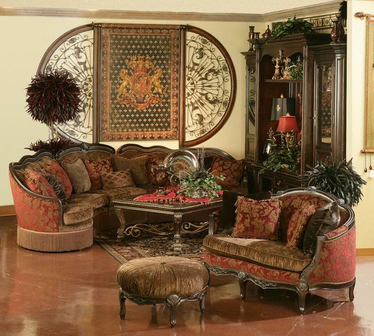 Rachlin Sofas Gigi Sectional Amp Colleen Settee Old World Decor Pinterest The Two Settees
