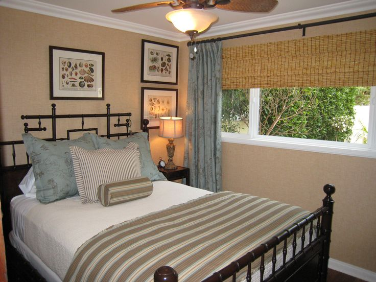 Attractive Simple Bedroom With A Great Headboard Good