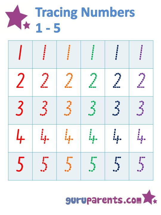 Preschool Tracing Number 6 Worksheets